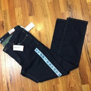 Men's NWT skinny flex dark blue jeans 33x32
